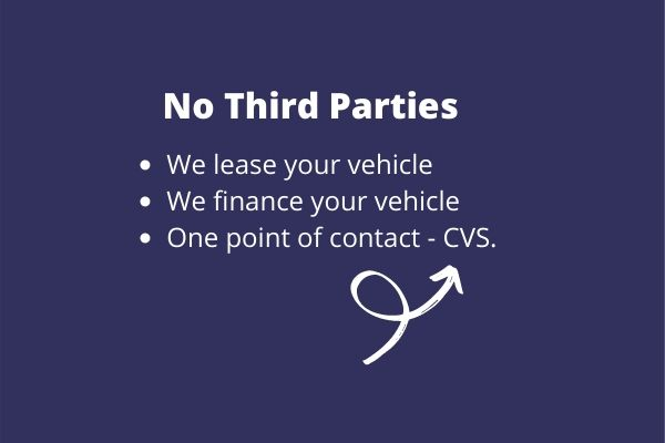 No Third Parties - CVS Lease and Finance Your Car