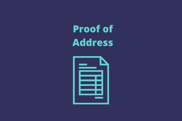 Supporting Documents - Proof of Address