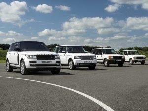 Range rover generations
