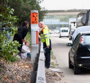 motorway breakdown tips