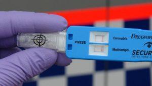 drug driving laws - drug testing result