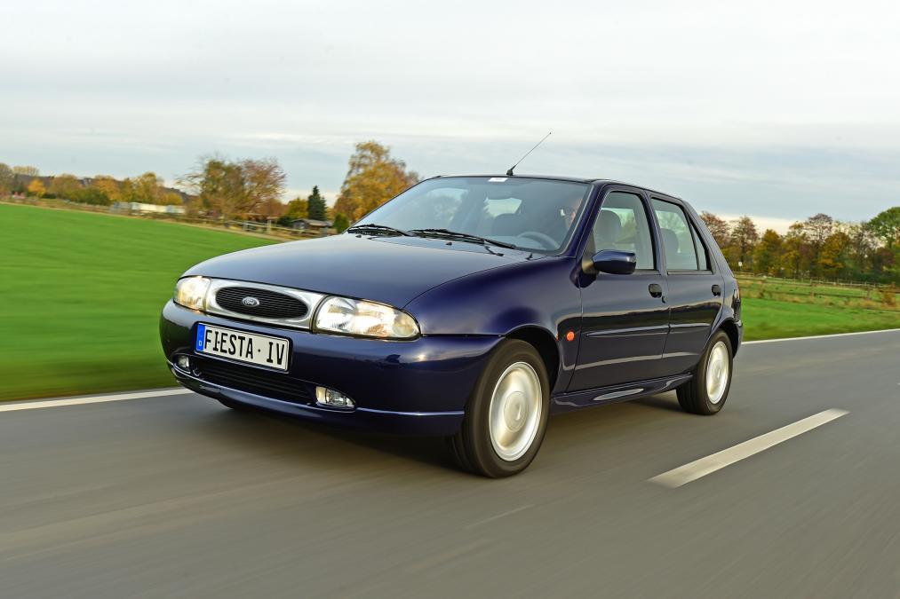 new model Ford Fiesta ghia 5 door