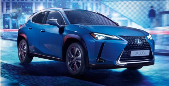 Lexus self charging hybrid