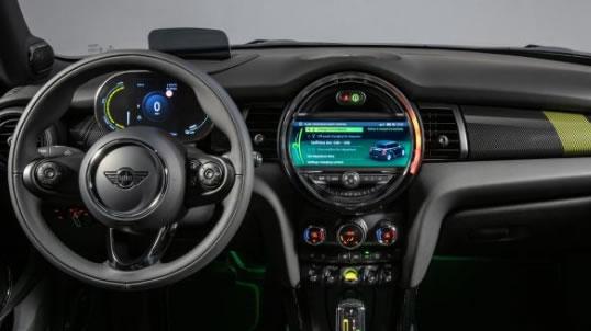 mini electric dashboard