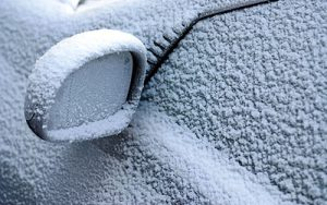 Frosted windscreens