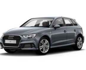 Audi A3 Grey Side