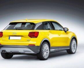 Audi Q2 Rear Aspect