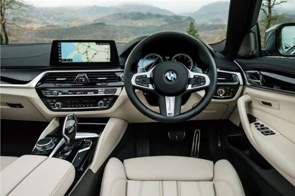 BMW5 Series interior