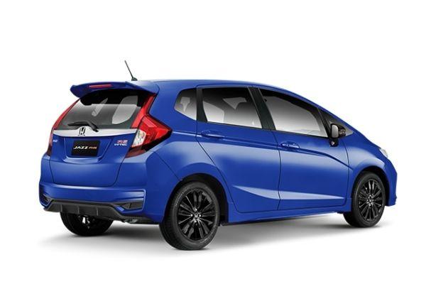 Honda Jazz Side and Rear