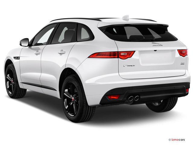 Jaguar F-Pace white side