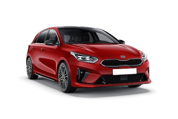 Kia Ceed Front Red