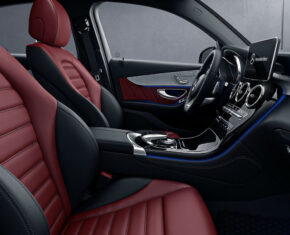 Mercedes-Benz GLC Coupe interior