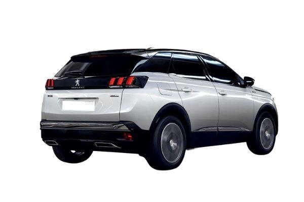 Peugeot 3008 Grey Rear