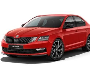Skoda Octavia Front - Red 600 by 400