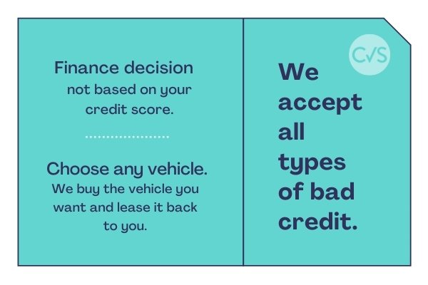 The benefits of bad credit car leasing with Compass Vehicle Services Ltd
