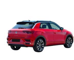 Volkswagen T Roc Back Red