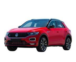 Volkswagen T Roc Front Red