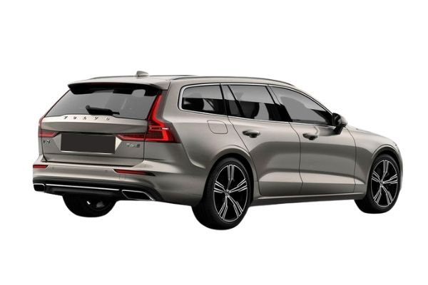 Volvo V60 Rear and Side view
