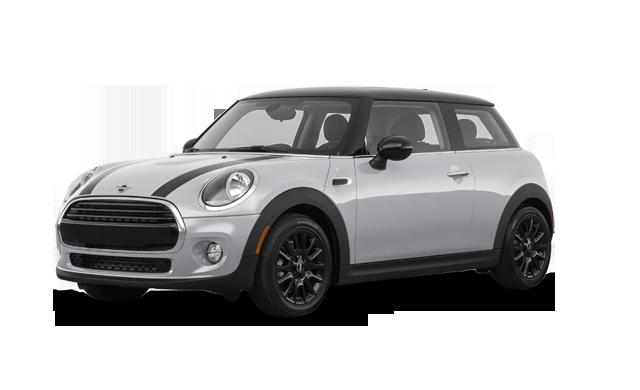 mini hatch front grey