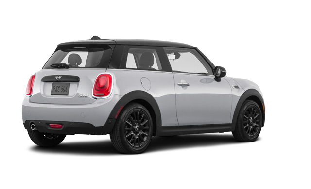mini hatch rear grey
