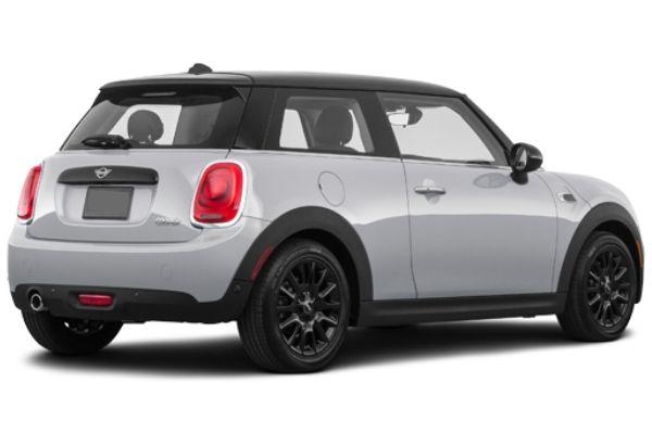mini hatch rear view