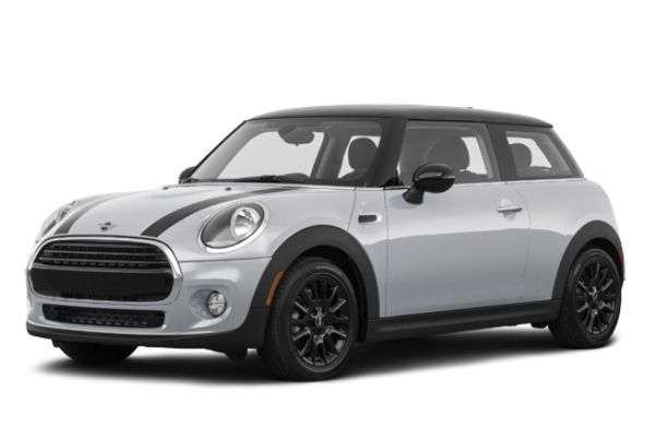 Side view of the MINI hatch which is available for bad credit car lease