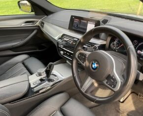 BMW 5 Series Interior view