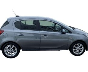 In Stock Vauxhall Corsa Sport 1.4 Grey 69 Reg - side view