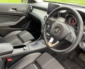 Mercedes-Benz GLA - interior view
