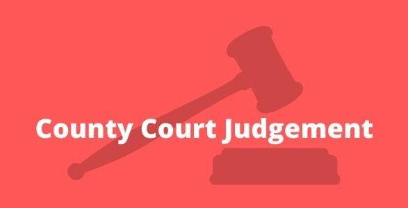 County Court Judgement Explained