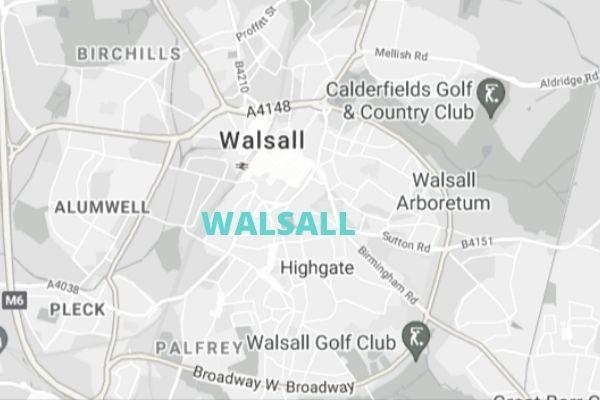 Walsall Map
